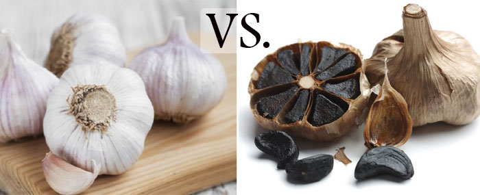 تفاوت سیر سیاه و سیر سفید