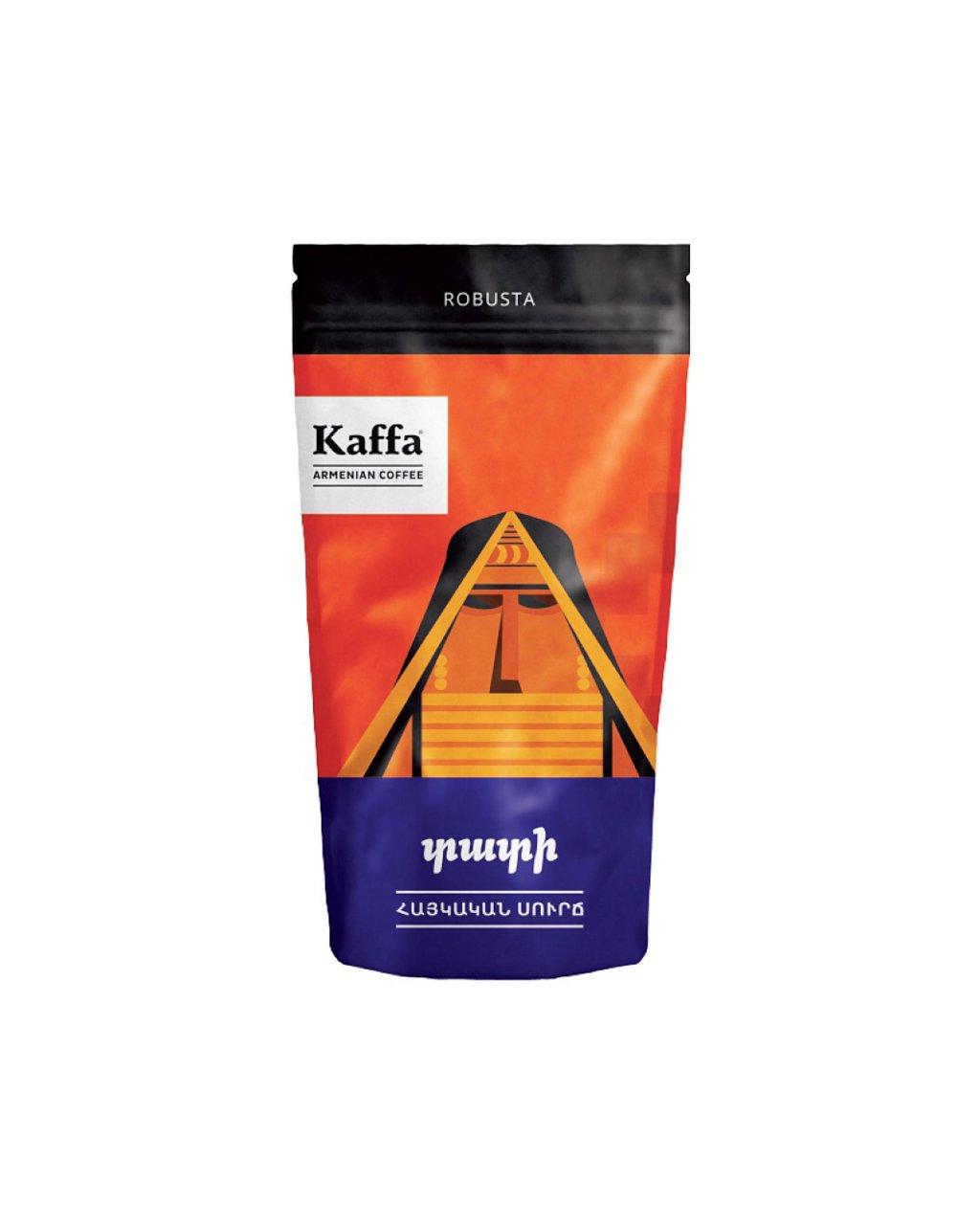 قهوه ارمنی کافا نوع روبوستا ۱۰۰ گرم