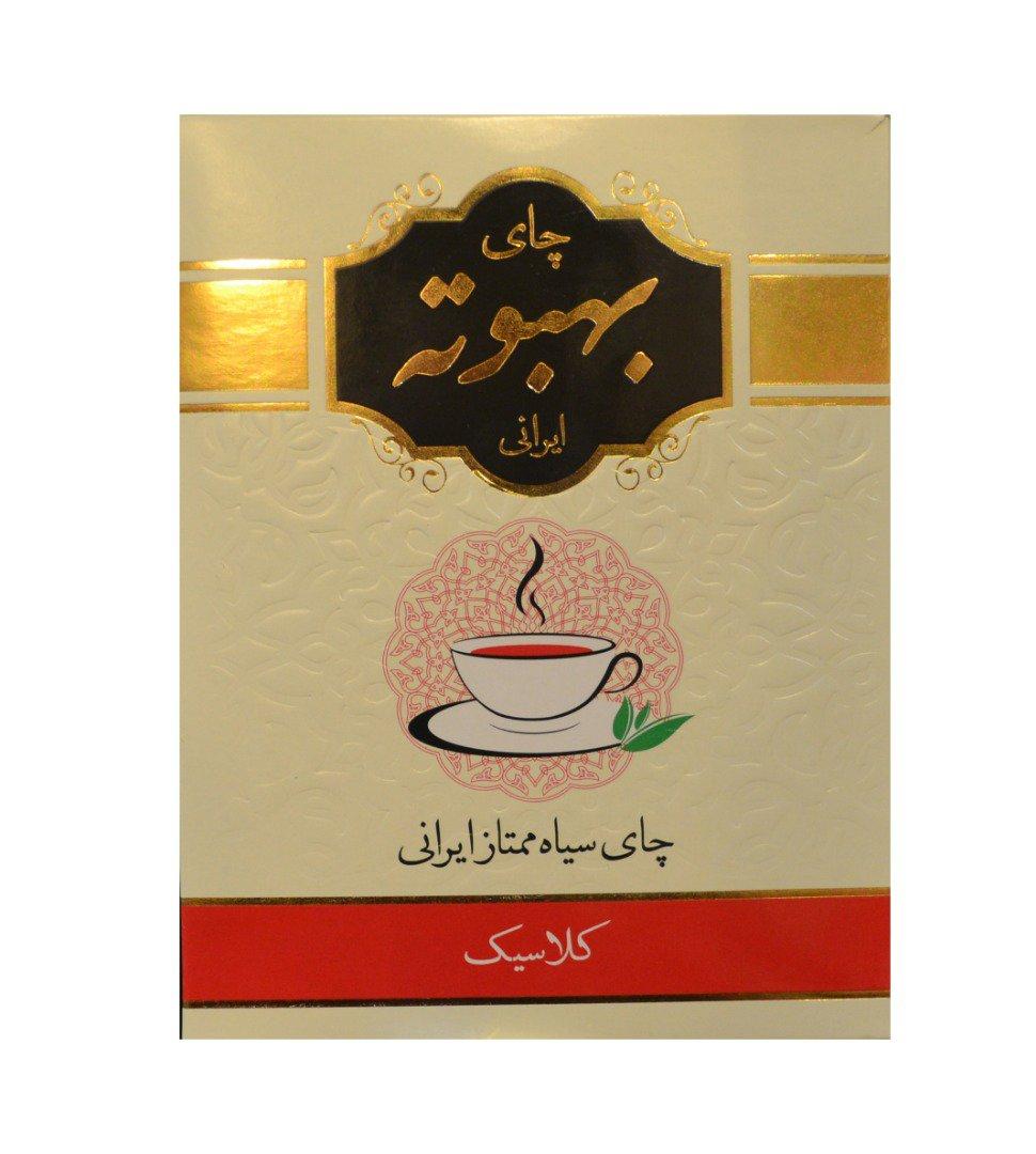 چای سیاه کلاسیک بهبوته ایرانی 400 گرم