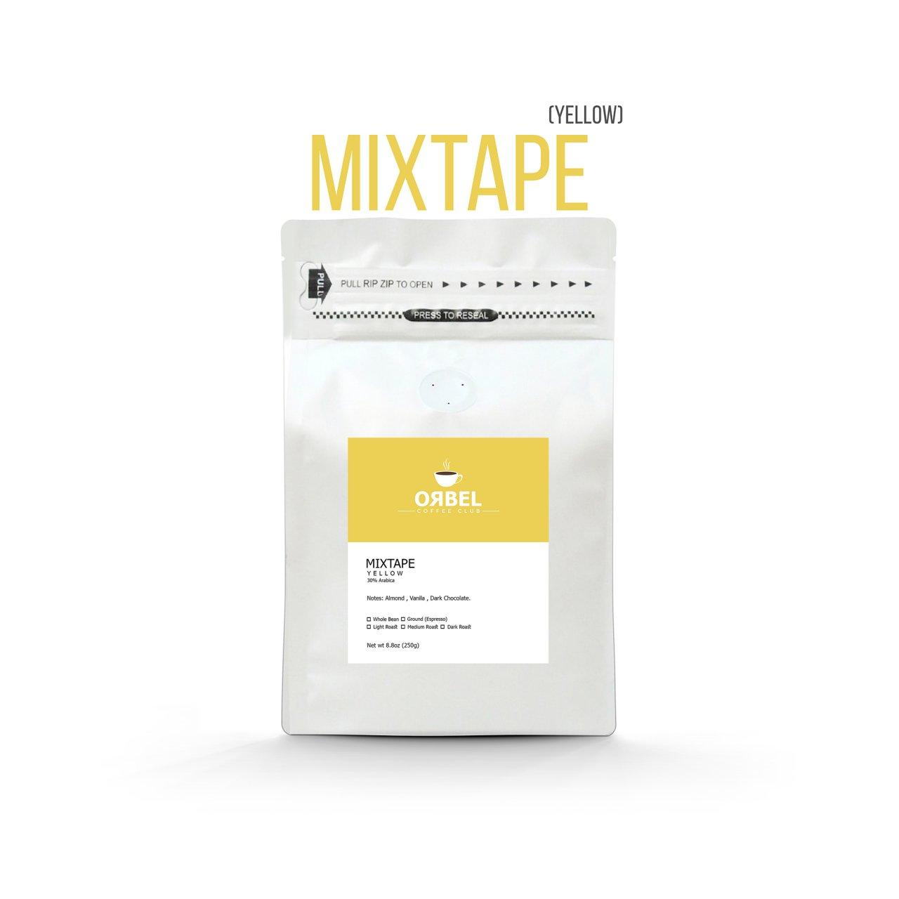 دانه قهوه اربل مدل میکس تیپ یلو ۲۵۰ گرم