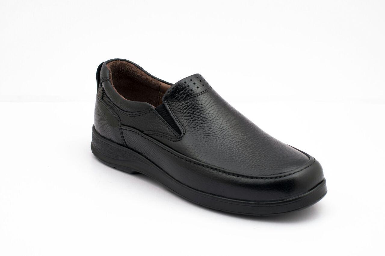 کفش مردانه تمام چرم گریدر مشکی