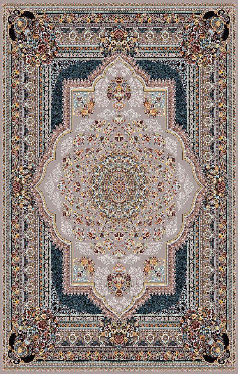 فرش طرح دایانا لوکس فیلی رنگ 700 شانه 12 متری