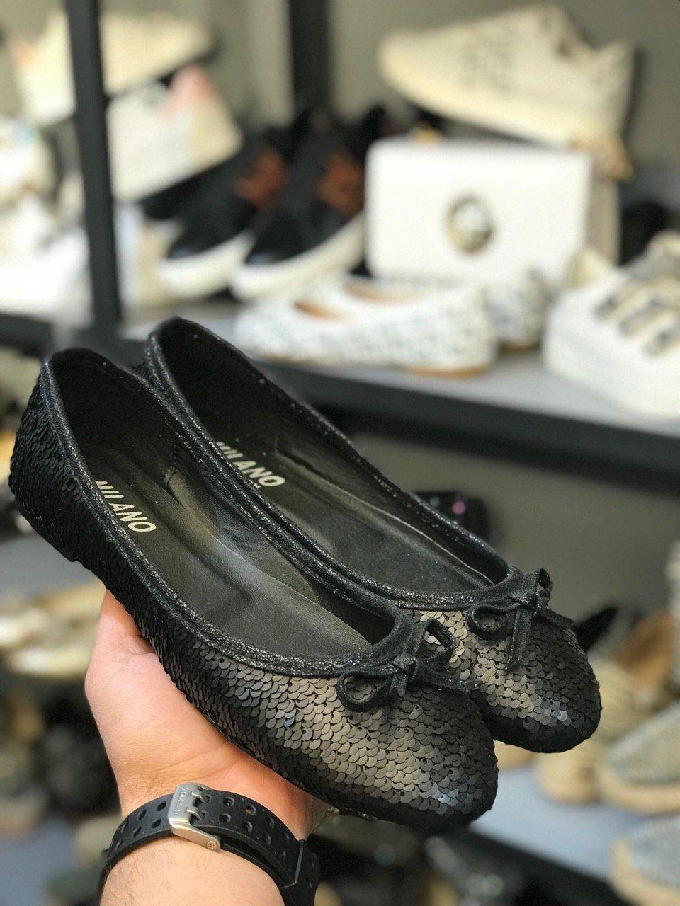 کفش زنانه مدل پولکی