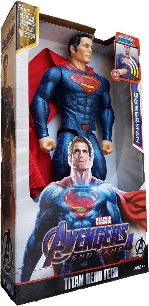 اکشن فیگور سوپرمن سایزبزرگ (ارسال رایگان)