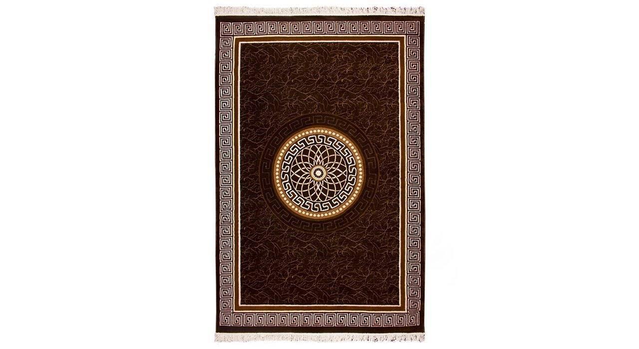فرش ماشینی قالی دینا طرح ورساچ کد 7080