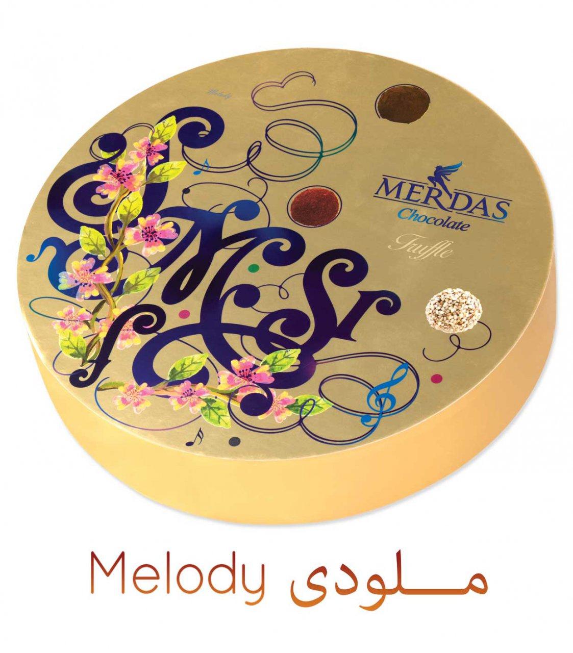 شکلات مرداس مدل ملودی