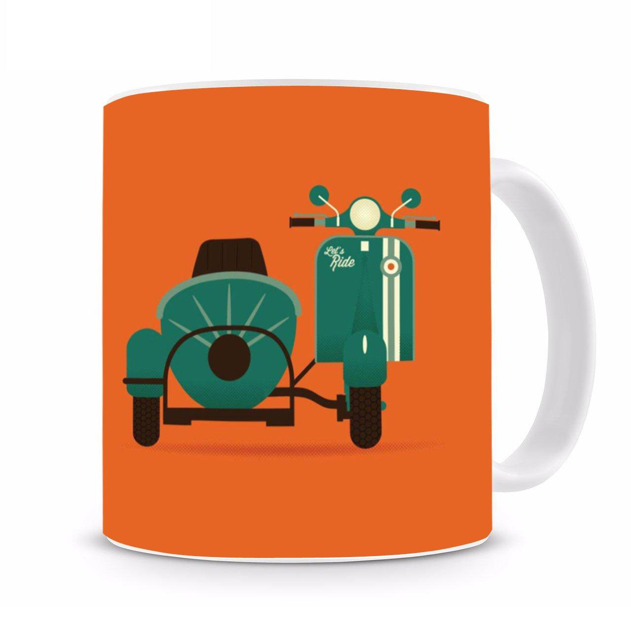 ماگ سرامیکی طرح موتور سیکلت