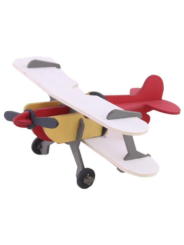 پازل 3 بعدی چوبی ( هواپیما )