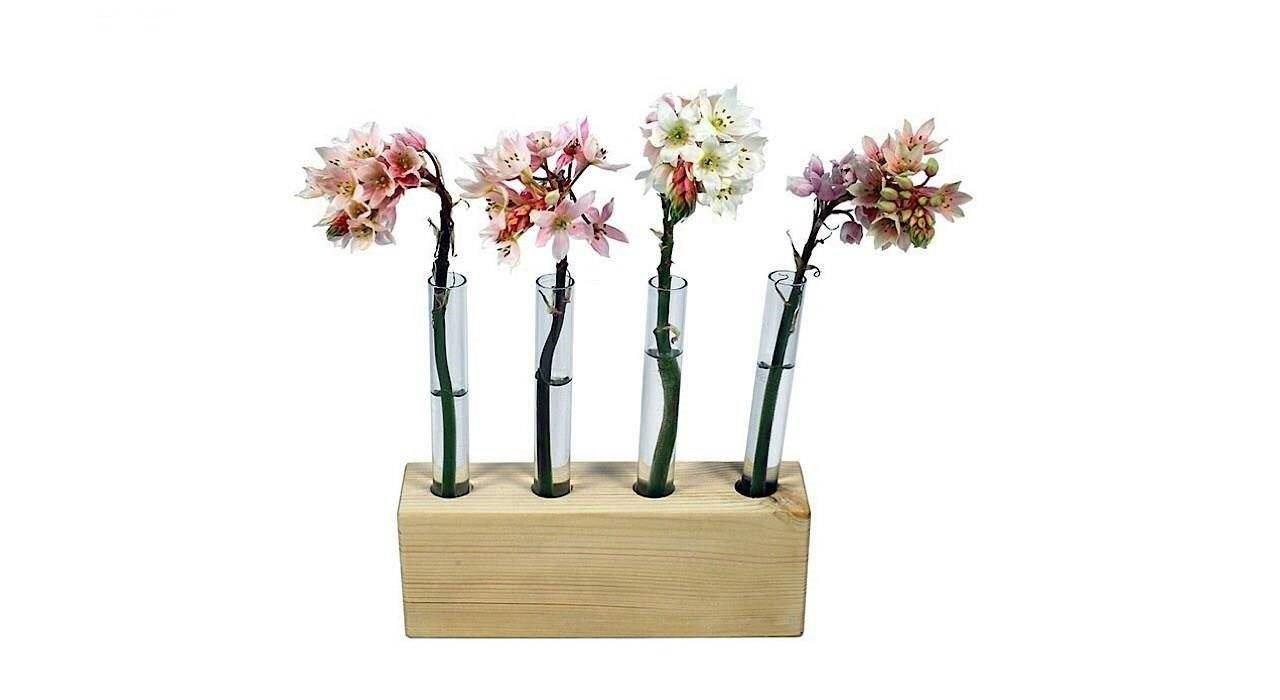 گلدان چوبی مدل Ik1001