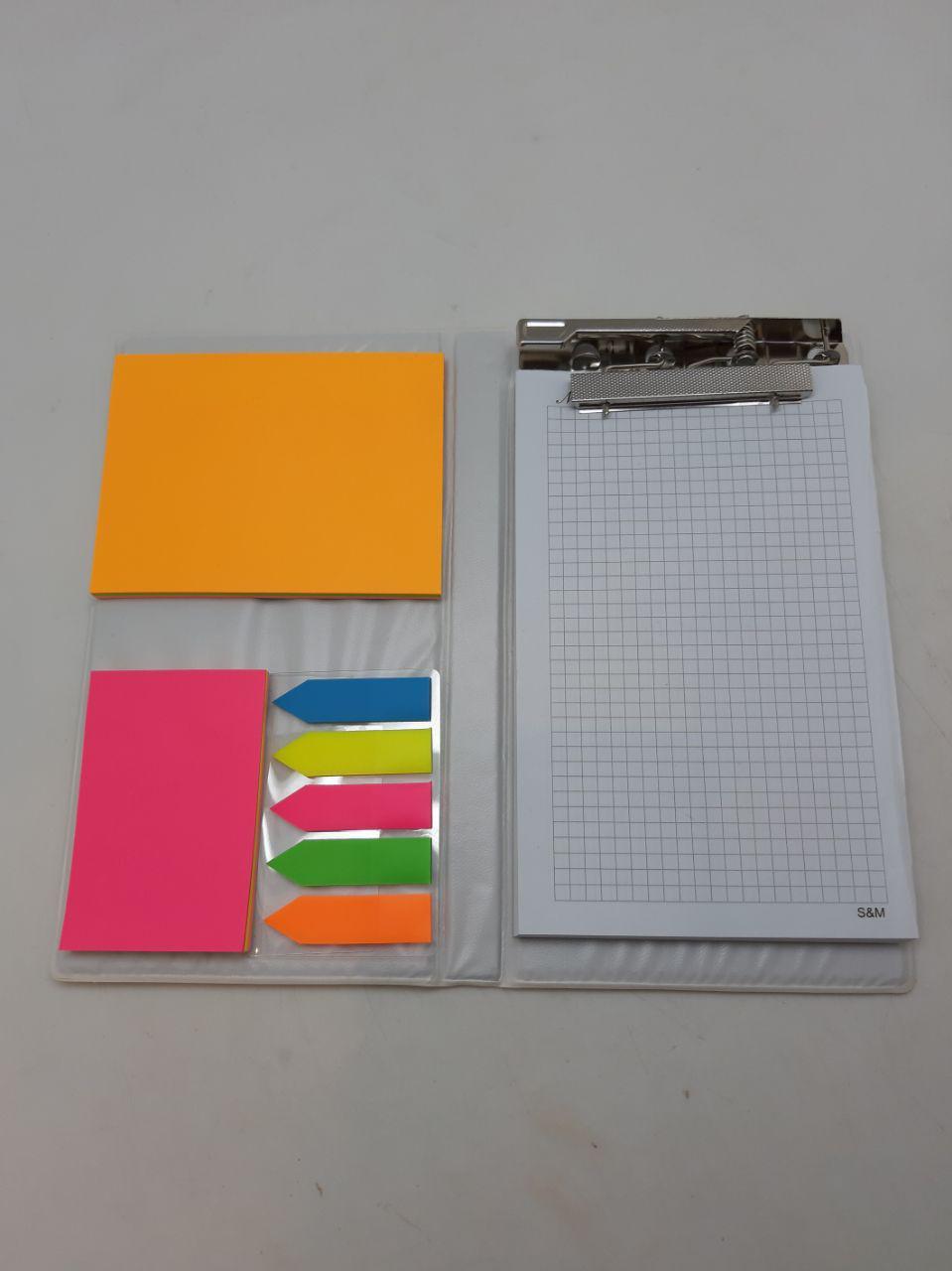 دفترچه یادداشت Y4 چرمی سفید