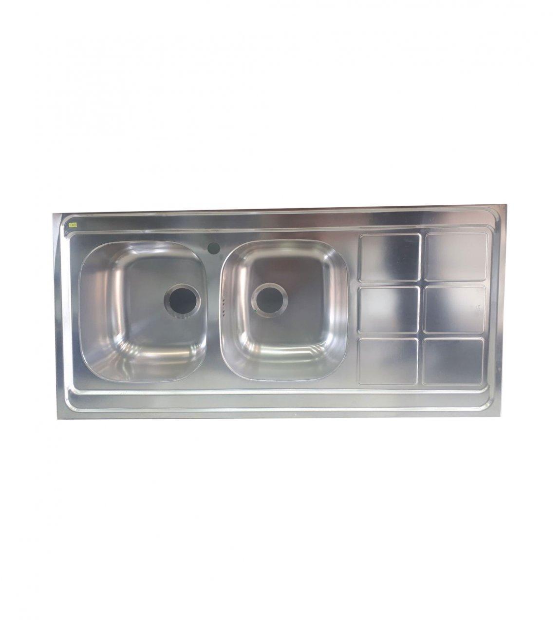 سینک ظرفشویی دو لگن نستا NS-3016