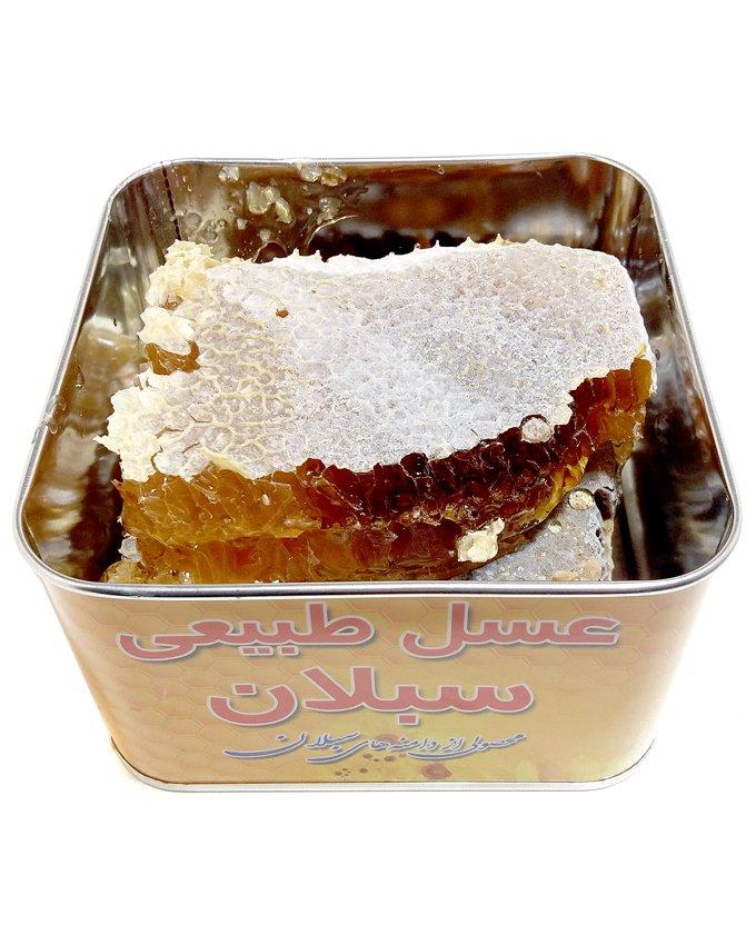 عسل طبیعی دو کیلویی چهل گیاه سبلان