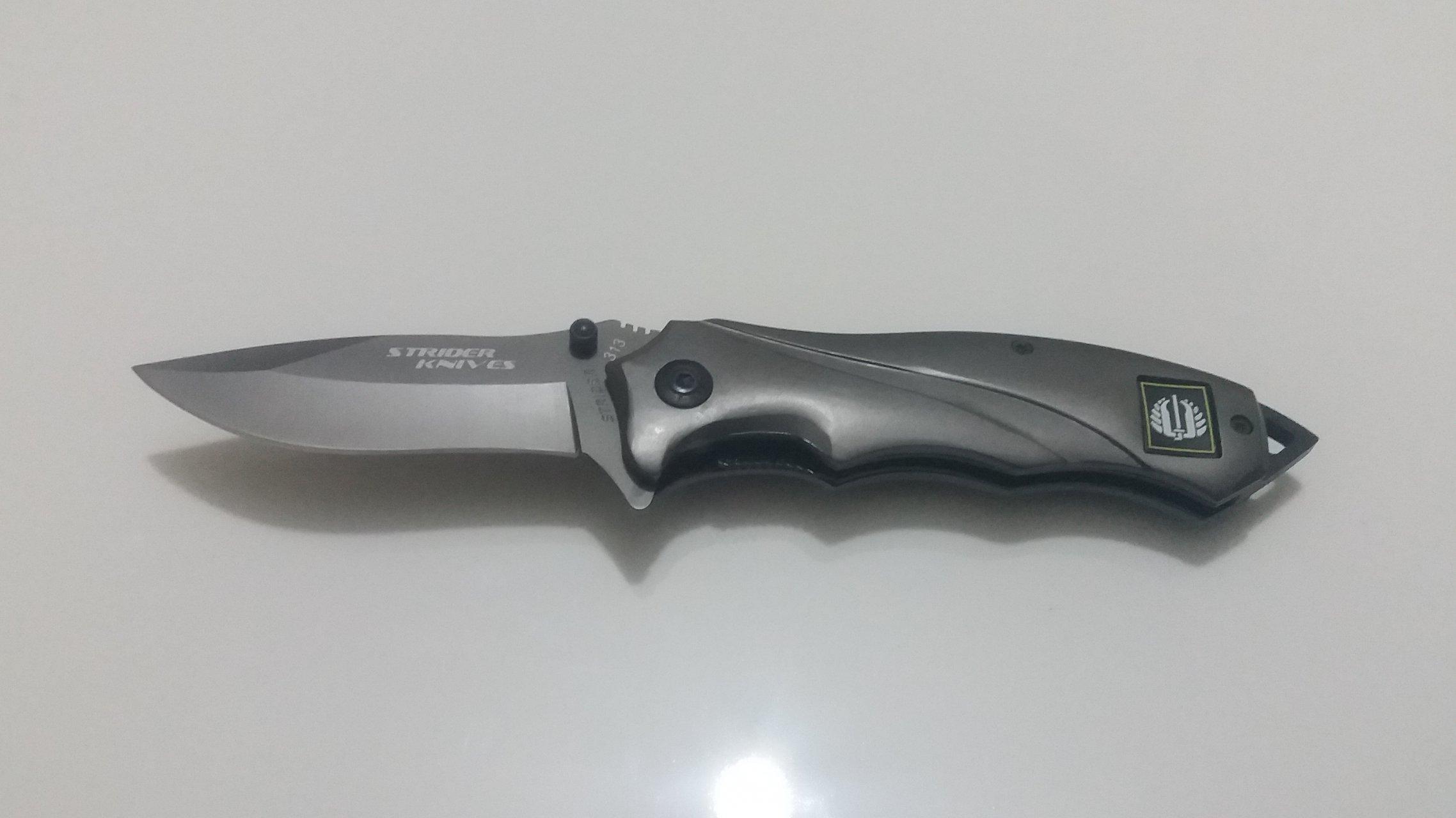 چاقوی سفری مدل شکاری strider 313