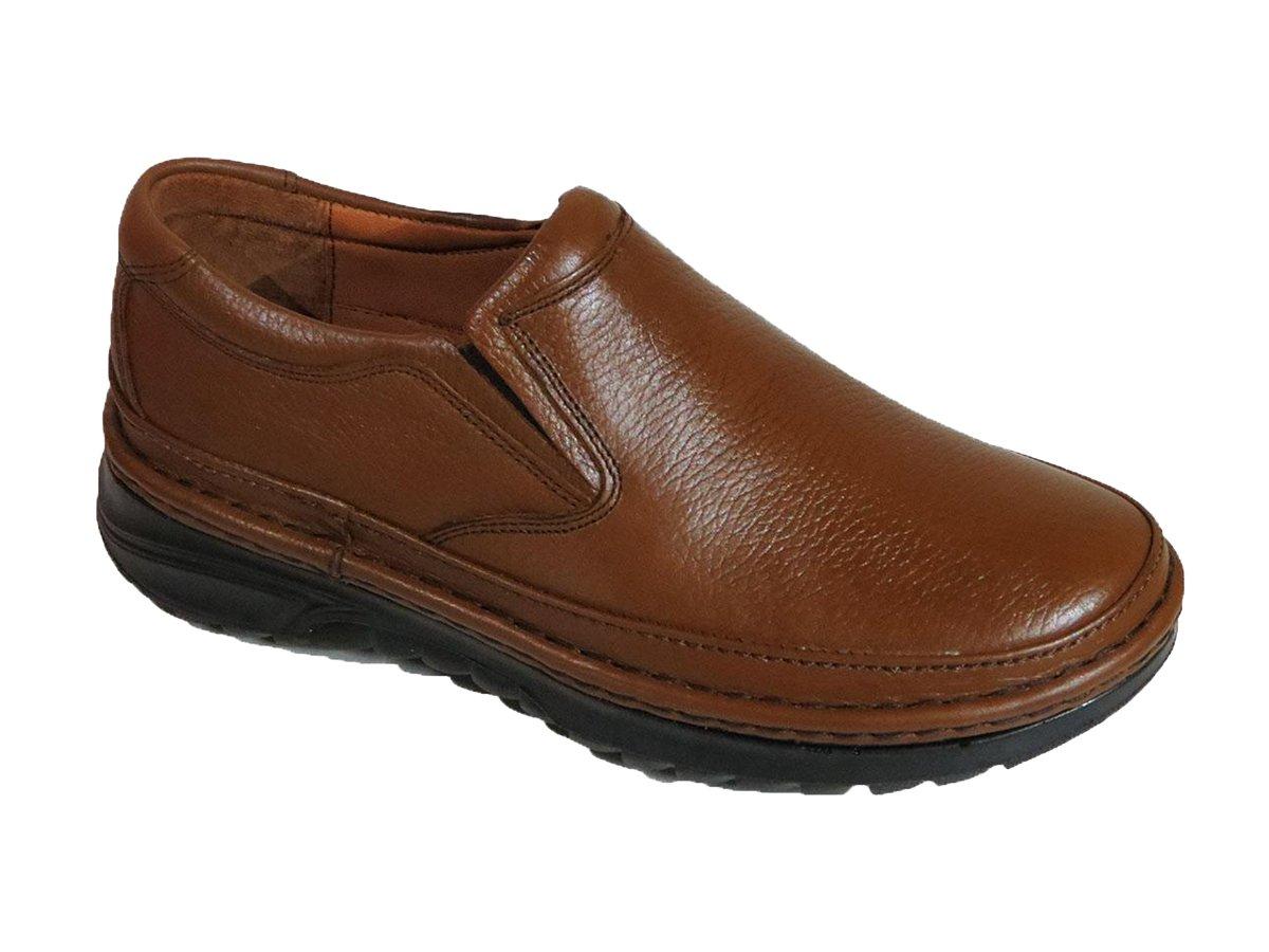 کفش طرح کلارک مردانه مدل فابیو عسلی