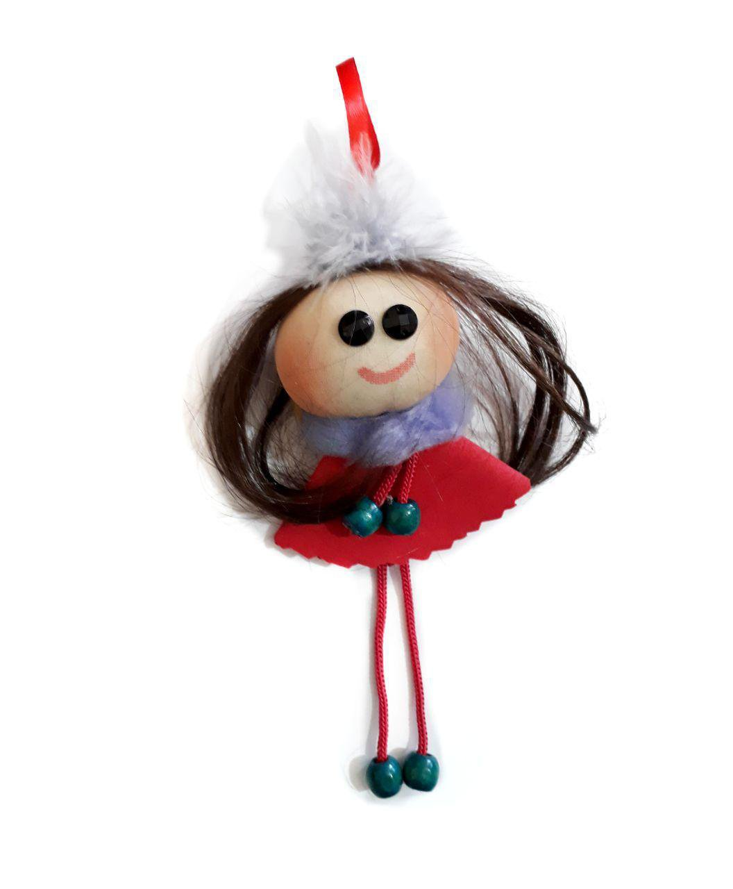 مگنت یخچال دستساز دختر آویزی زیبا