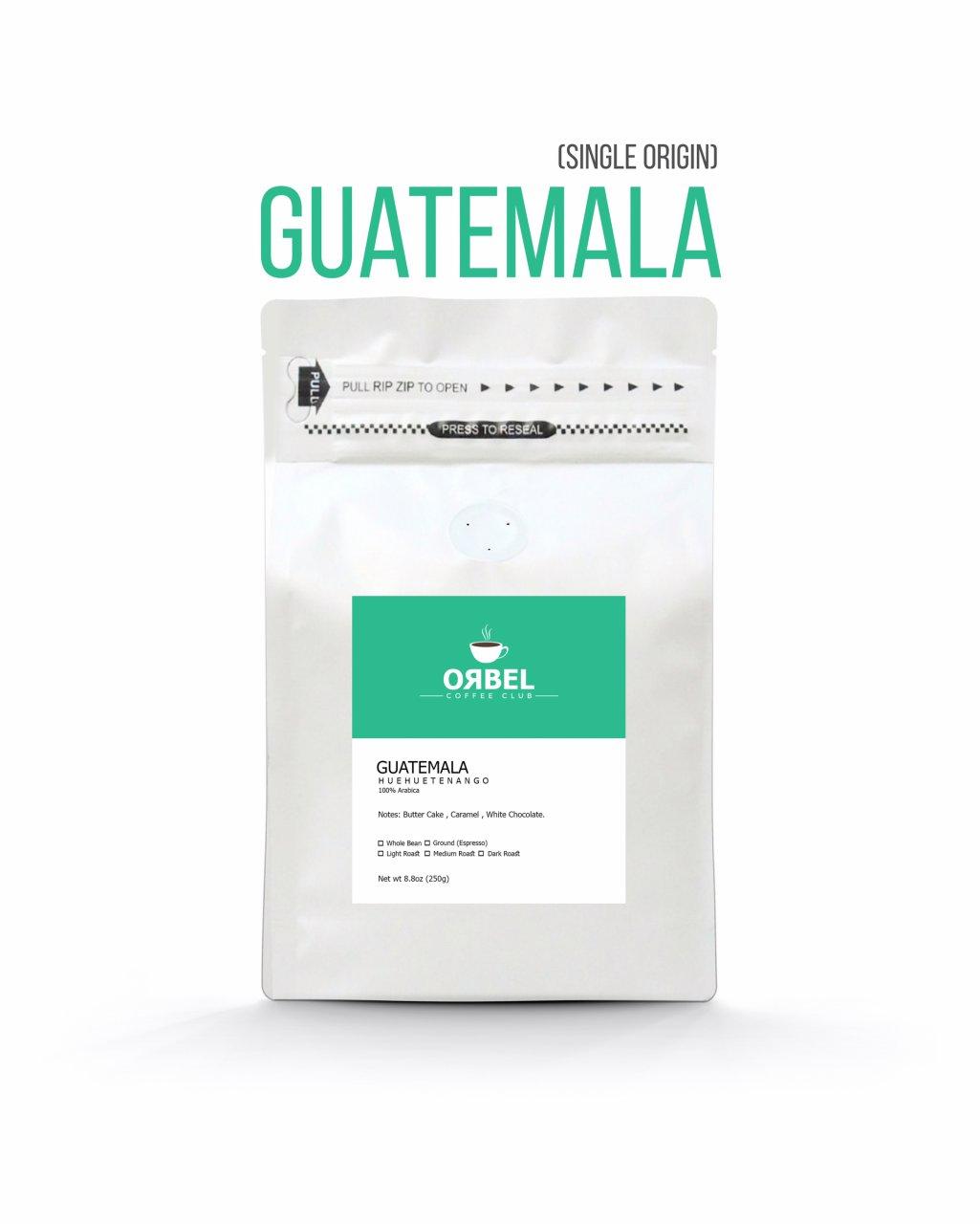 دانه قهوه گواتمالا سینگل اوریجین 1 کیلویی