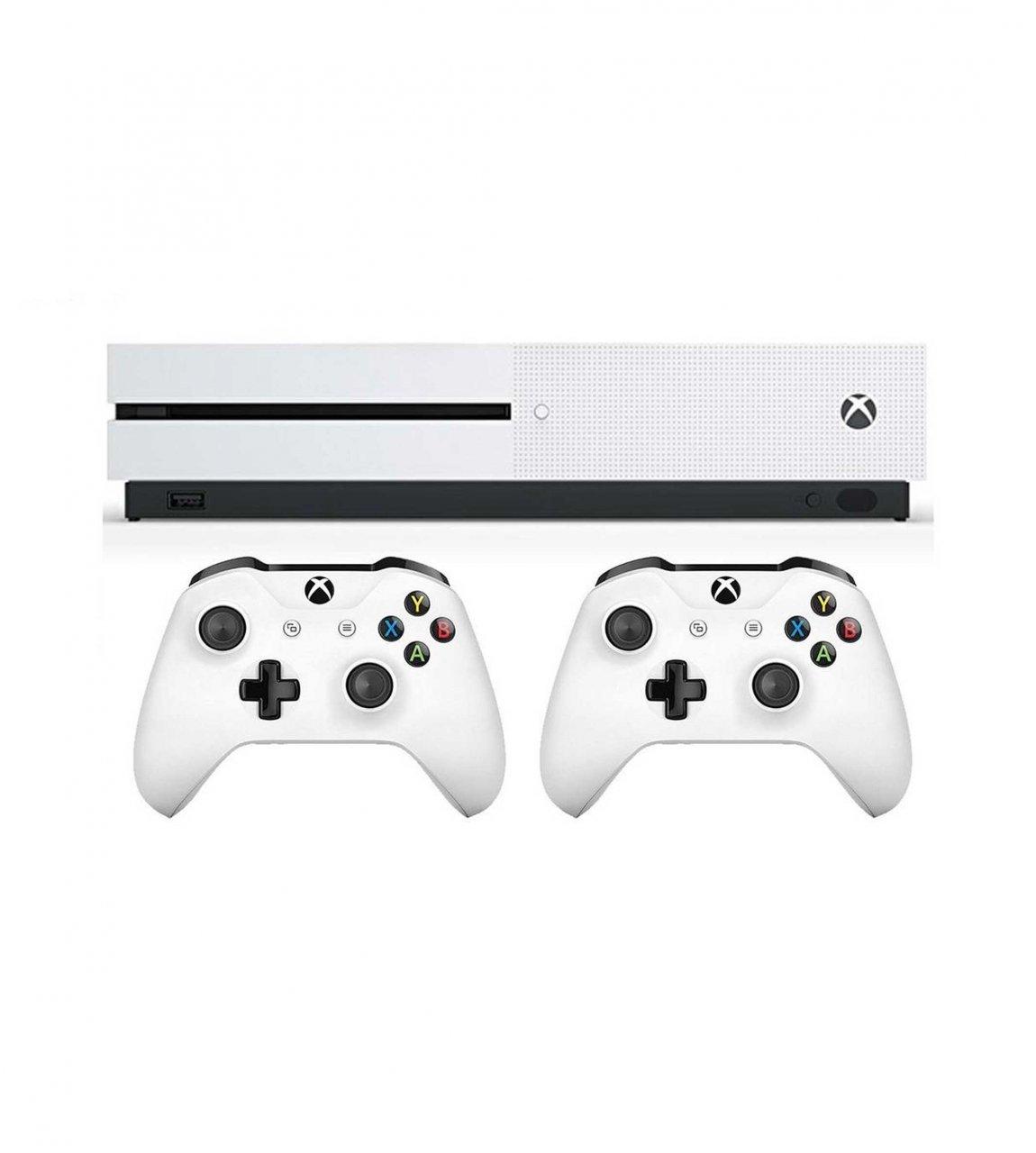 کنسول بازی مایکروسافت مدل Xbox One S ظرفیت 1 ترابایت + دسته اضافه