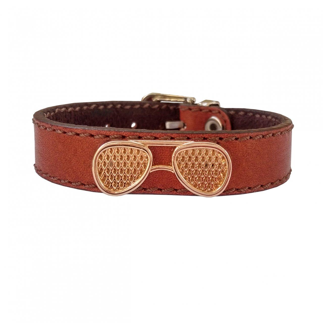 دستبند چرم وارک مدل پرهام کد rb37