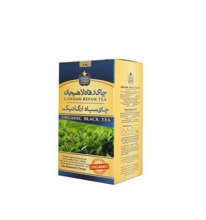 چای سیاه قلم ارگانیک رفاه لاهیجان