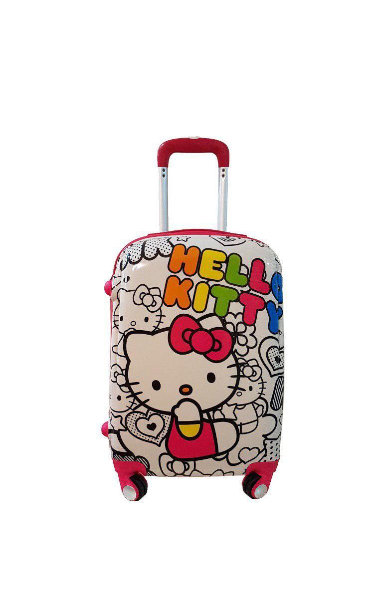 چمدان بچگانه طرح کیتی سایز 20