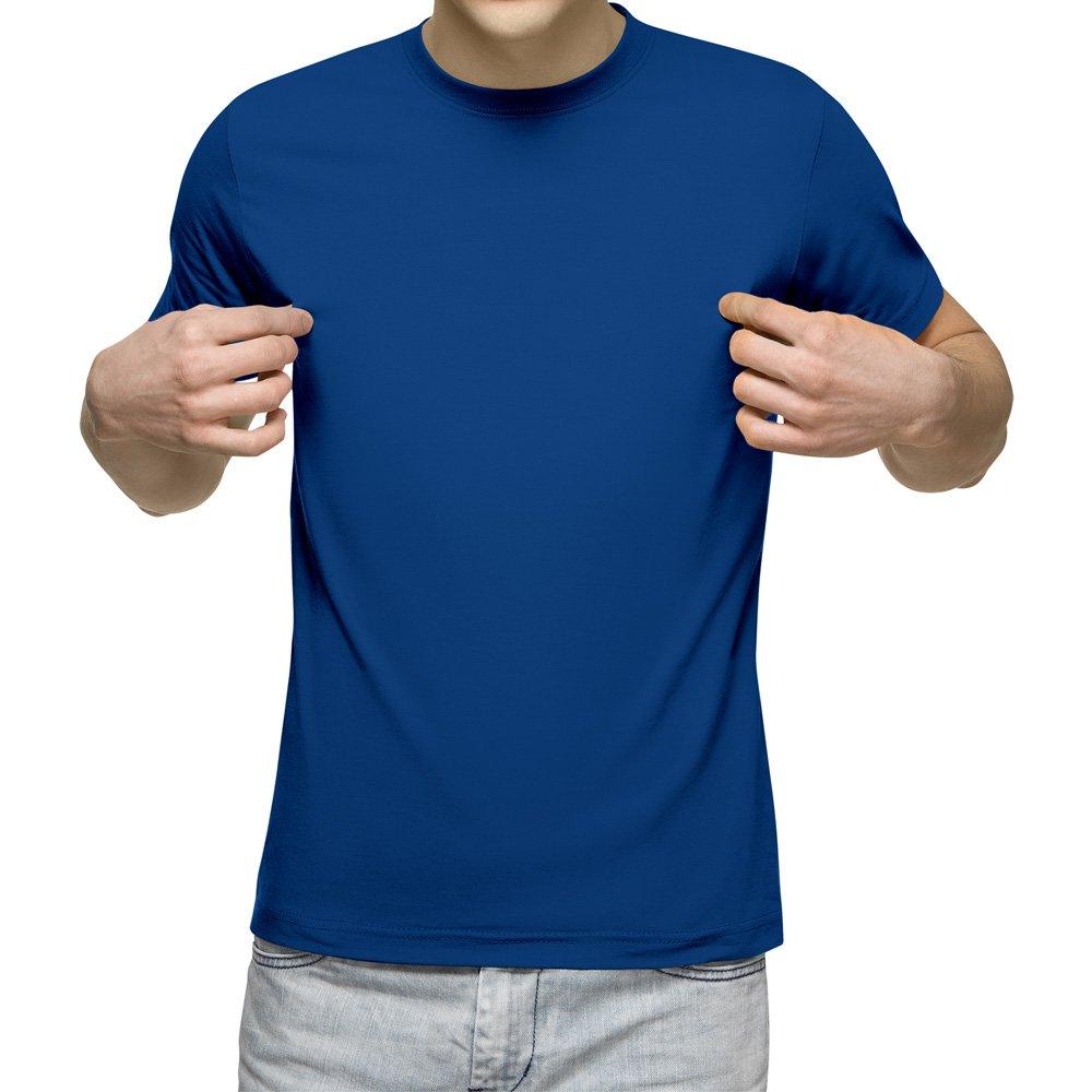 تیشرت آستین کوتاه مردانه کد 1TBU رنگ آبی