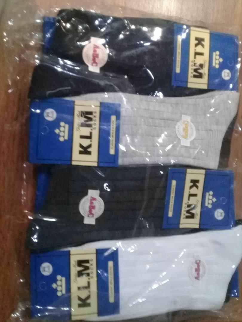 جوراب مردانه KLM بسته 12 عددی