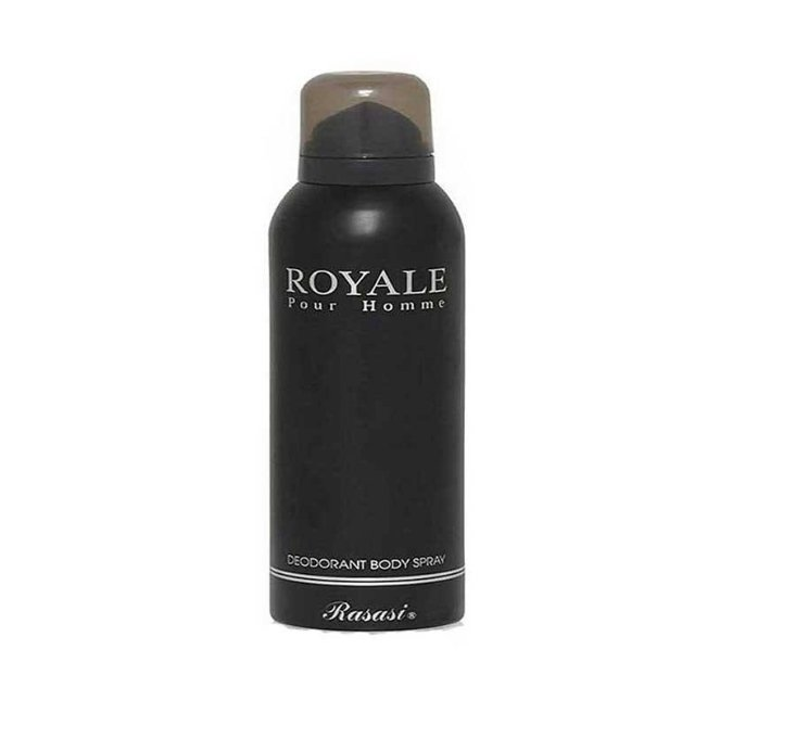 اسپری رصاصی مدل ROYALE حجم ۲۰۰ میلی لیتر