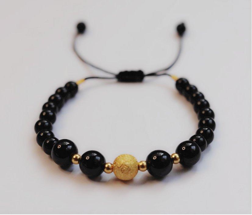 دستبند مروارید طلایی