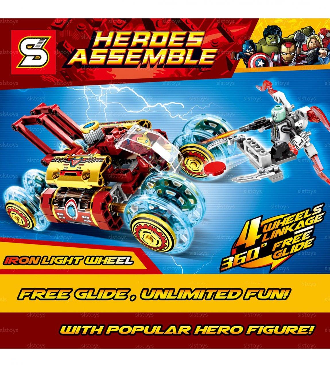 لگو heroes assemble SY 7028