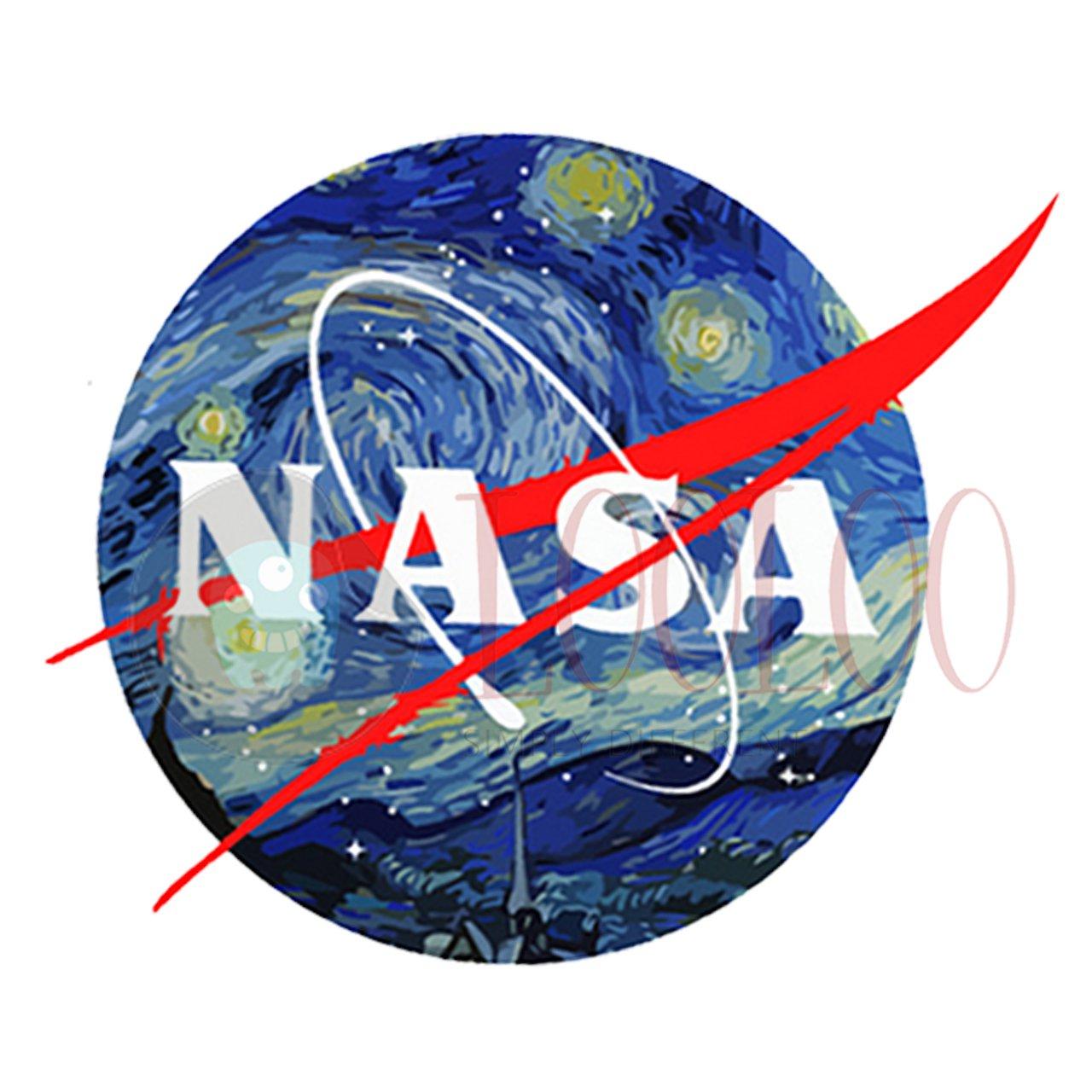 استیکر ناسا از مجموعه کهکشانی لولو استیکر