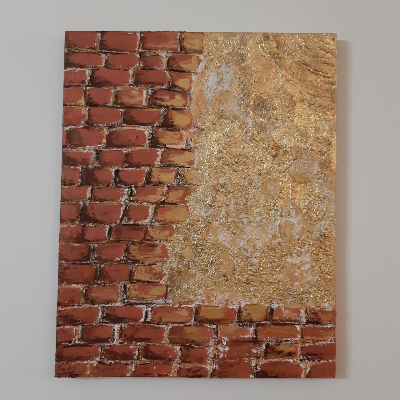 تابلو نقاشی طرح دیوار گنج
