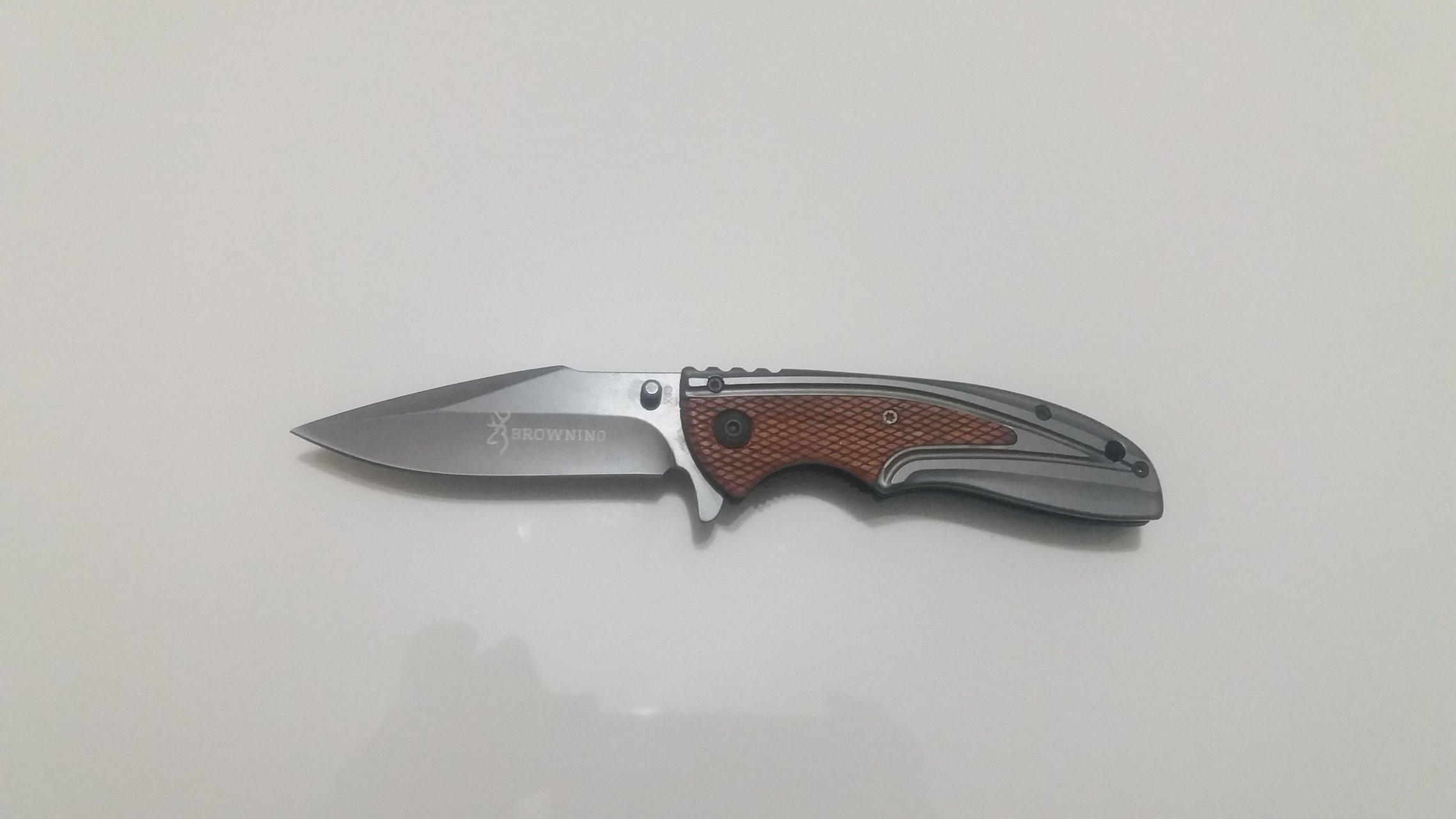 چاقوی سفری مدل برونینگ browning
