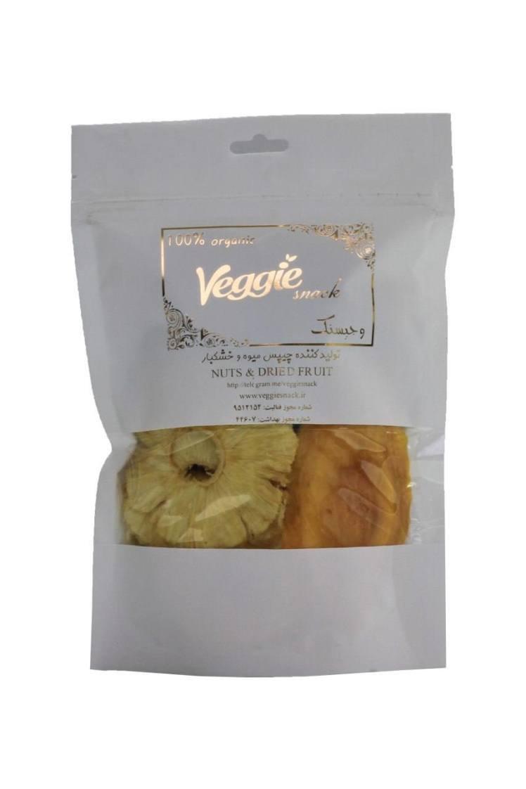 میوه خشک پاور پک 250 گرمی وجیسنک power pack
