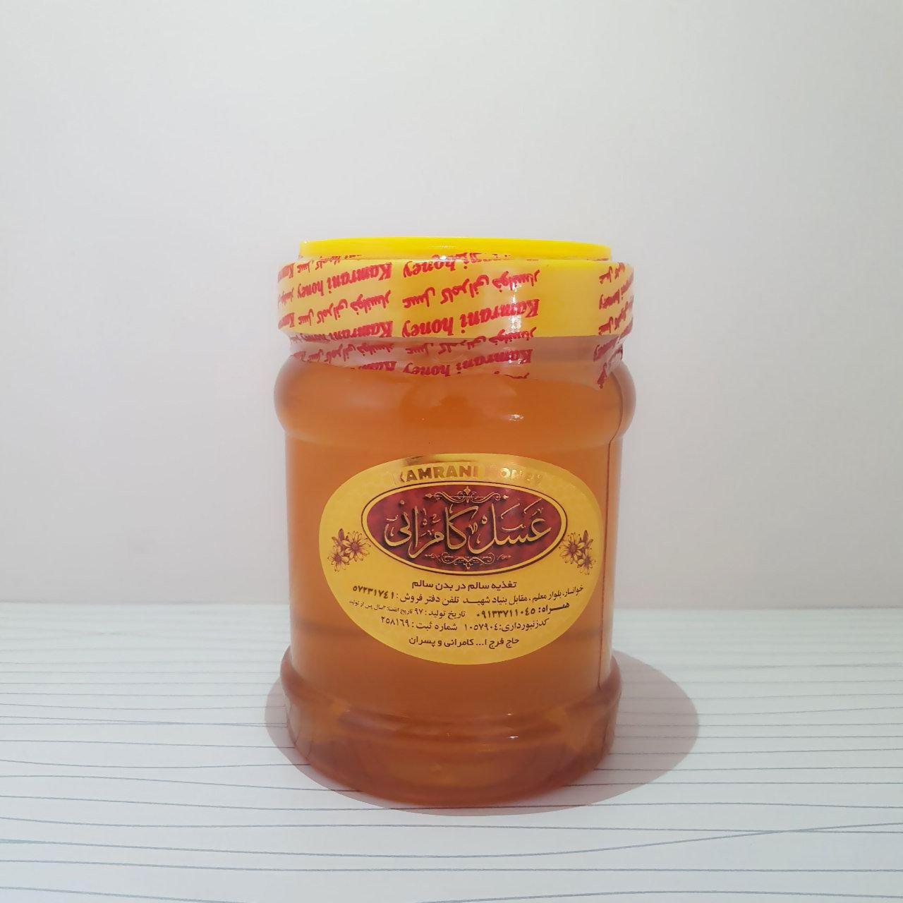 عسل انگبین طبیعی 1000
