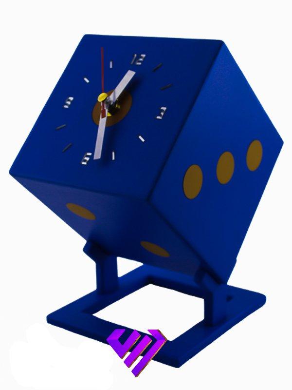 ساعت رومیزی طرح تاس ( دال )