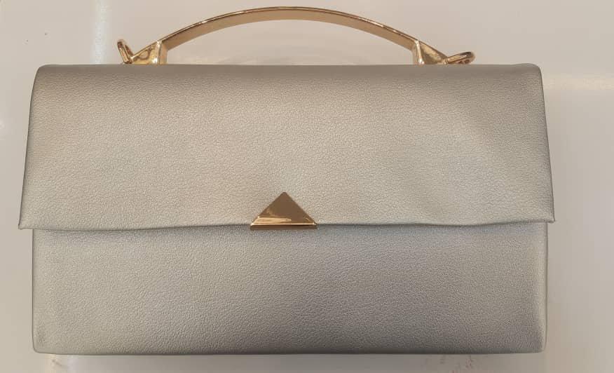 کیف مجلسی زنانه با طرح طلایی