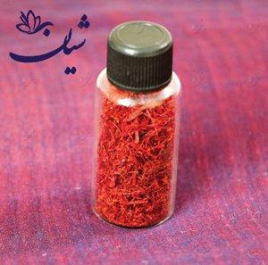 زعفران سرگل درجه یک قائنات شیشه ای یک مثقال