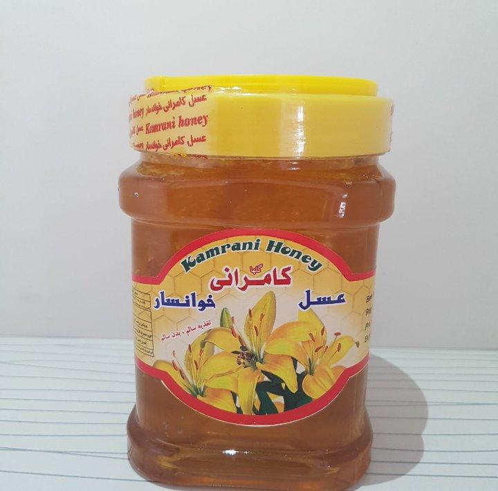 عسل طبیعی موم دار 1000 گرم