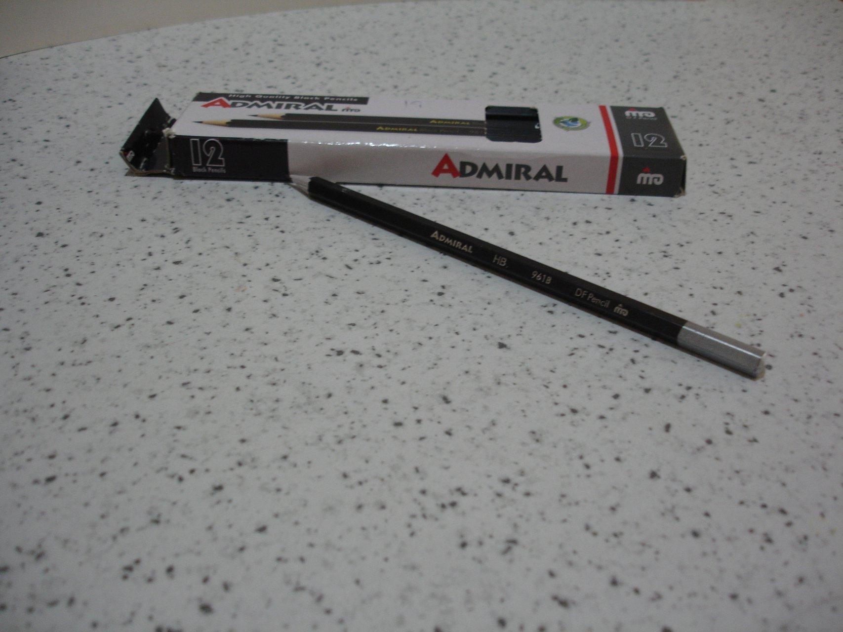 مداد مشکی ادمیرال