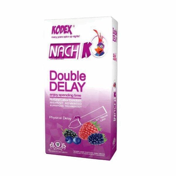 کاندوم تاخیری کدکس 10 عددی دابل دیلی با حلقه لاتکس