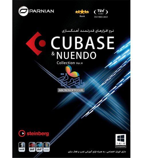 مجموعه نرم افزاری Cubase & Nuendo Collection Ver.4 نشر پرنیان