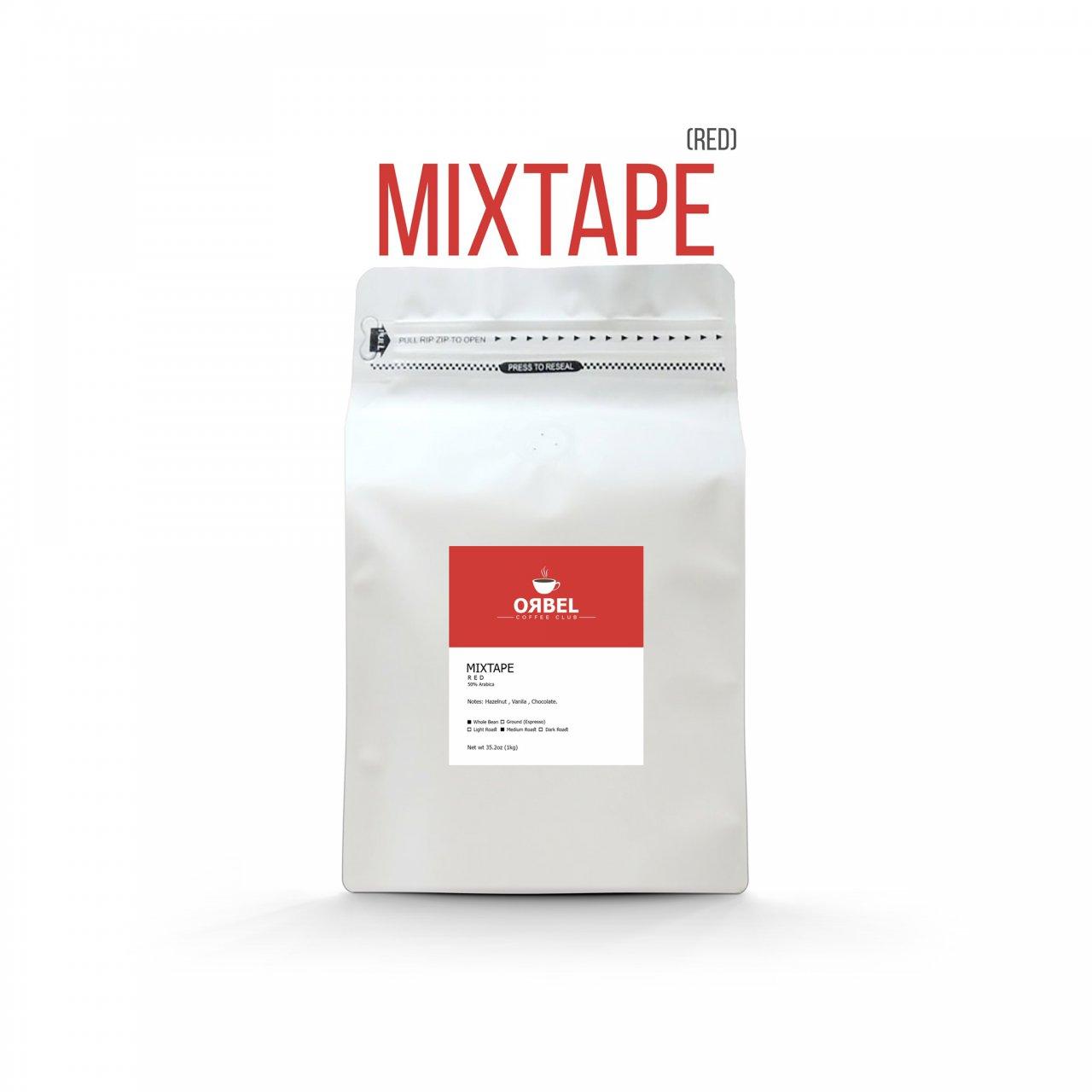 دانه قهوه اربل مدل میکس تیپ رد 1 کیلوگرم
