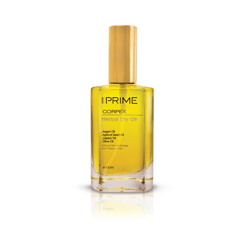 روغن پوست و مو پریم سری Corpex مدل Herbal Dry حجم ۱۰۰ میلی لیتر