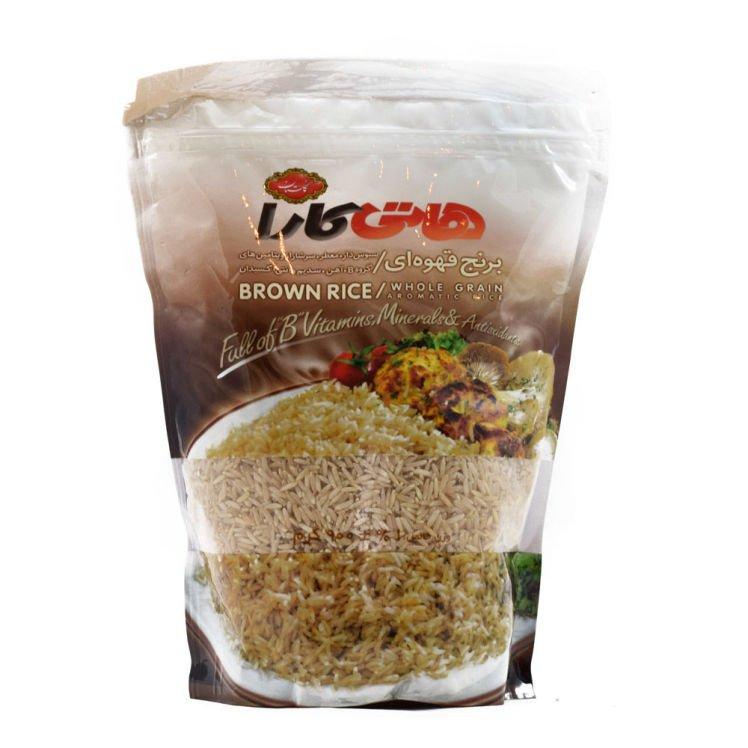 برنج قهوه ای هاتی کارا 900 گرم