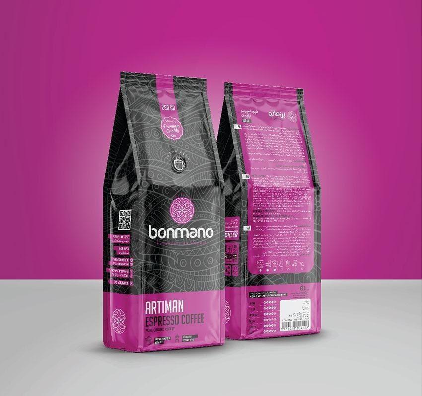 پودر قهوه اسپرسو بن مانو 250 گرمی