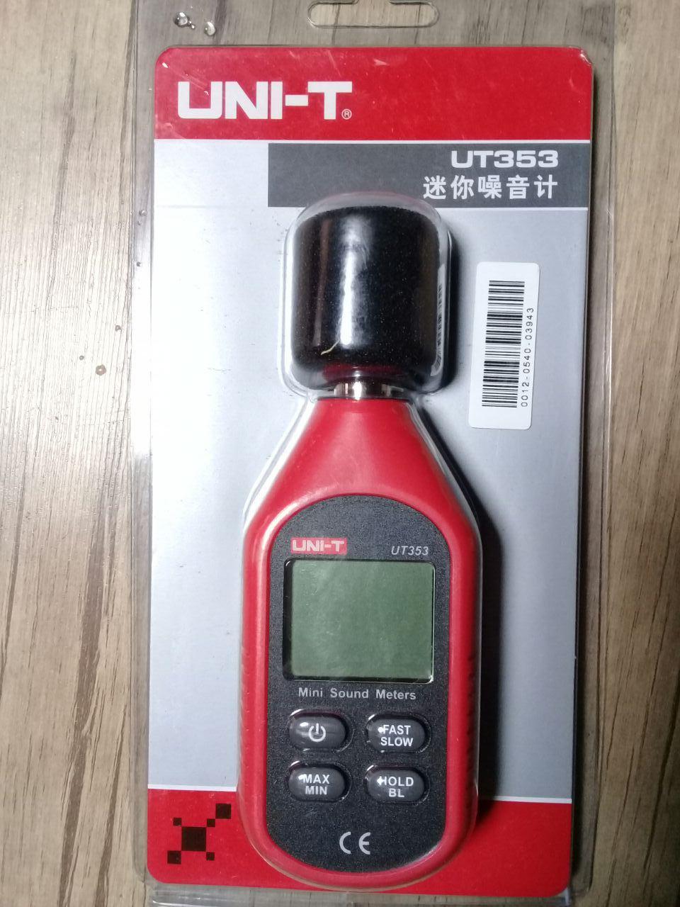 دستگاه تست صدا با تشخیص 30 تا 130 دسی بل uni-t مدل ut353