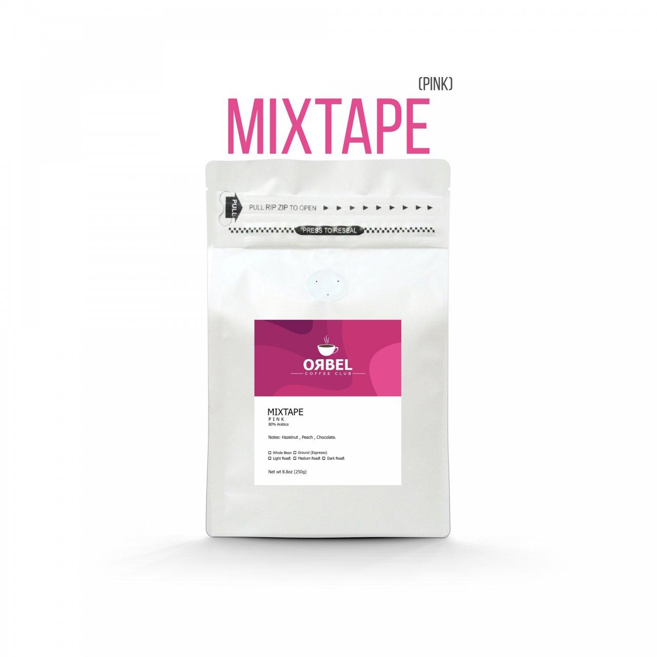 دانه قهوه اربل مدل میکس تیپ پینک ۲۵۰ گرم