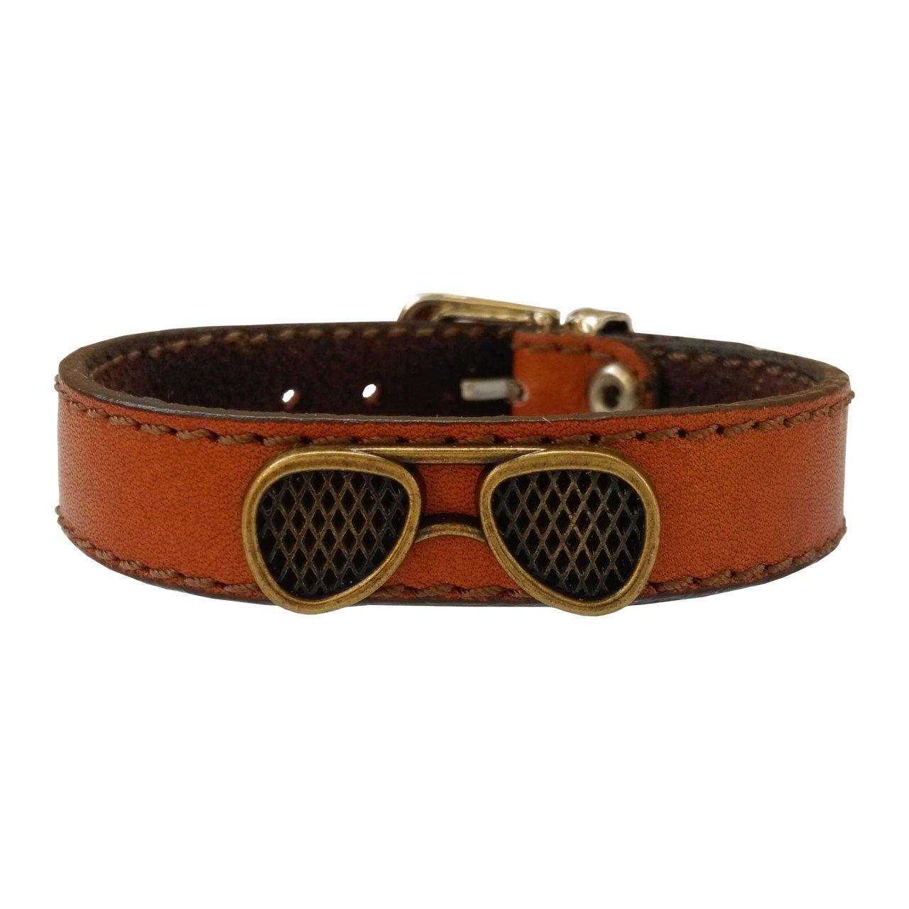 دستبند چرم وارک مدل پرهام کد rb36