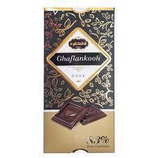 شکلات تابلت 83 % قافلانکوه 80 گرم