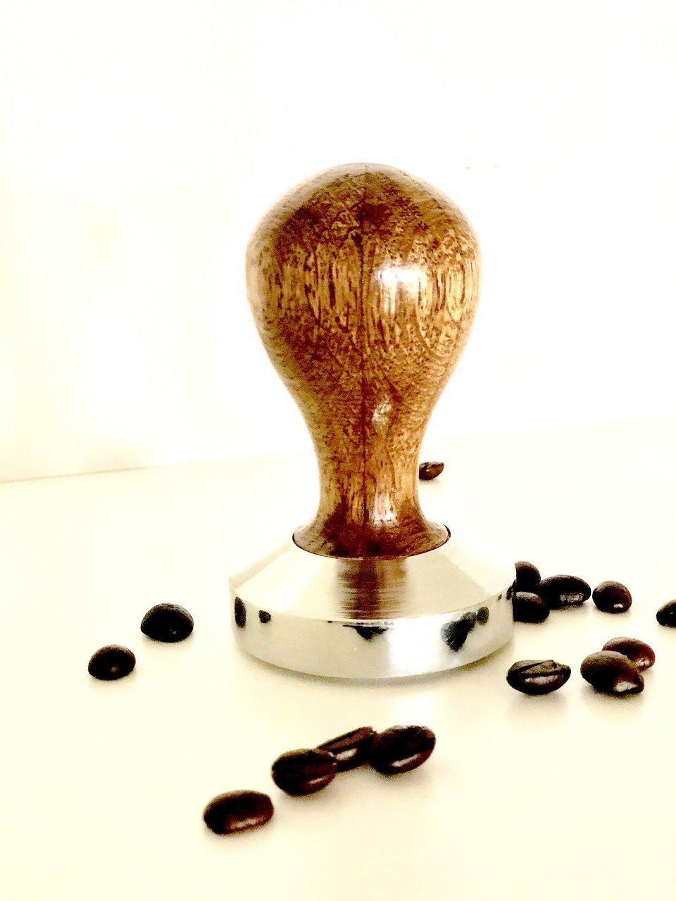 تمپر استنلس استیل قهوه حرفه ای محدب ۵۸